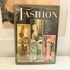 Vintage Mila Contini Fashion hardcover book